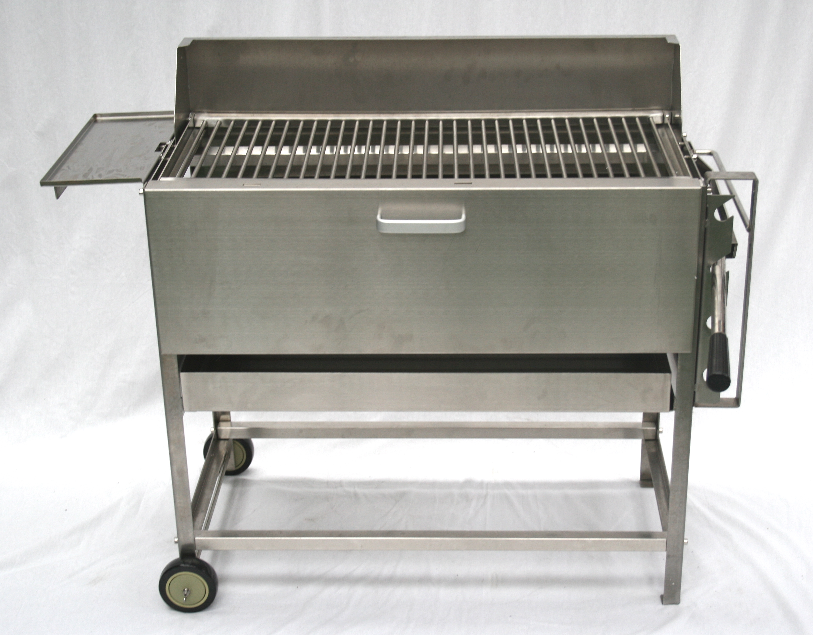 The Commercial Stainless Steel Excalibur Charcoal Bbq