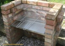Stainless steel Brick BBQ kit