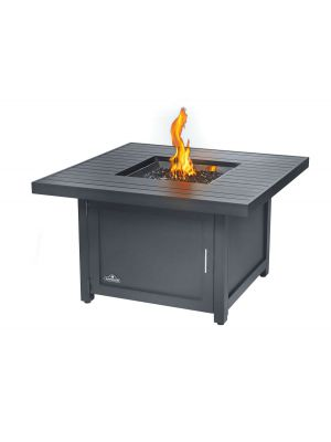 Hamptons Square Flame Table Grey