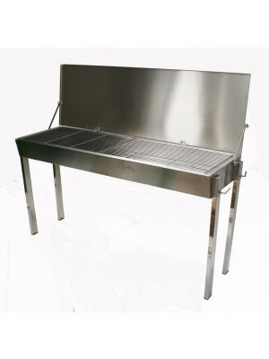 Stainless Steel Charcoal BBQ - 3mm Grills