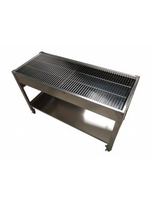 Zodiac Stainless Steel Charcoal BBQ
